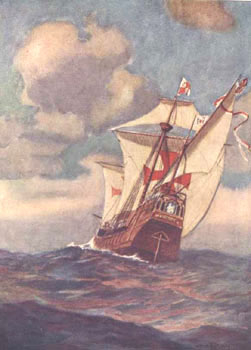 food aboard Christopher Columbus ships